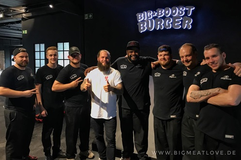 JP Performance Big Boost Burger TEAM