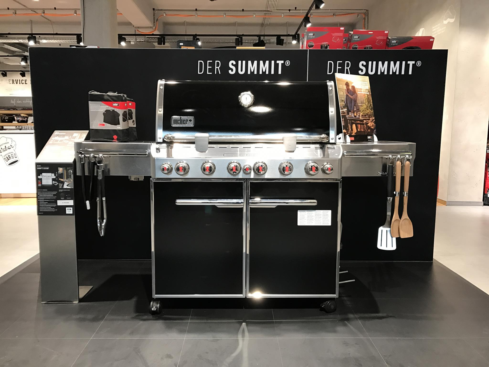 Outdoorküche Weber Xl : Weber grill in outdoor küche integrieren küche kostenlos