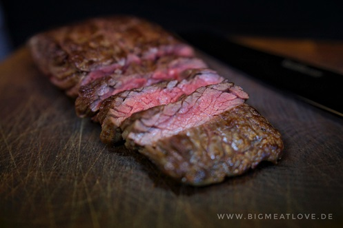 medium grilled Flap Meat Steak Don Carne