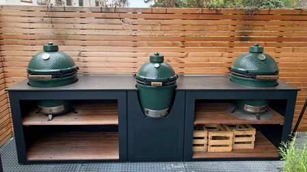 Outdoorküche Outdoorkitchen Grillzimmer Big Green Egg