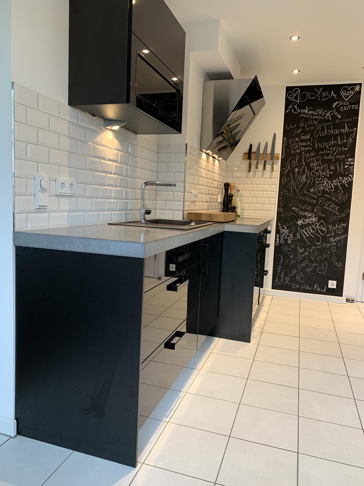 Arbeitsplatten aus Beton DIY - Anleitung mit Betonrezept ...