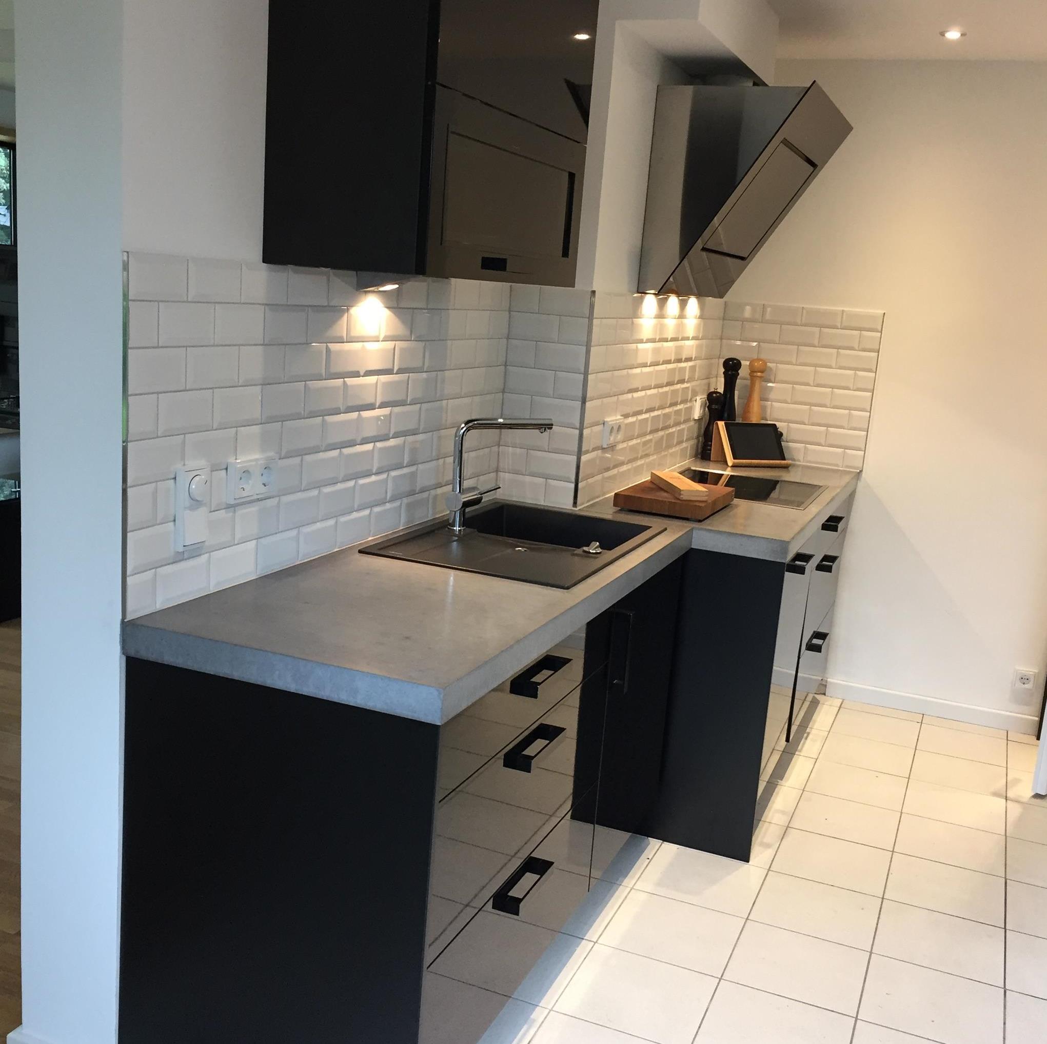 Arbeitsplatte küche beton  Arbeitsplatten aus Beton DIY - Anleitung mit Betonrezept - Bigmeatlove